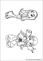 Bratz Colouring Pages free For Kids