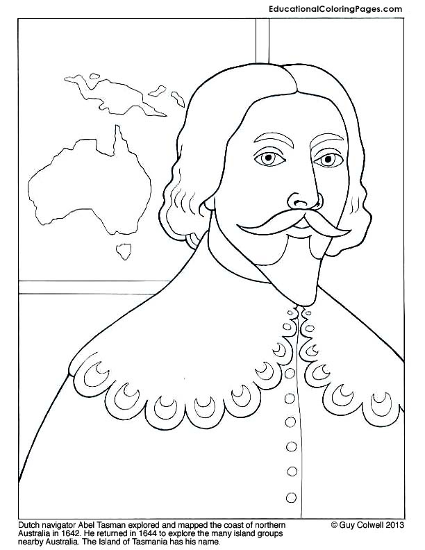 famous explorers coloring educational fun kids coloring pages and preschool skills worksheets
