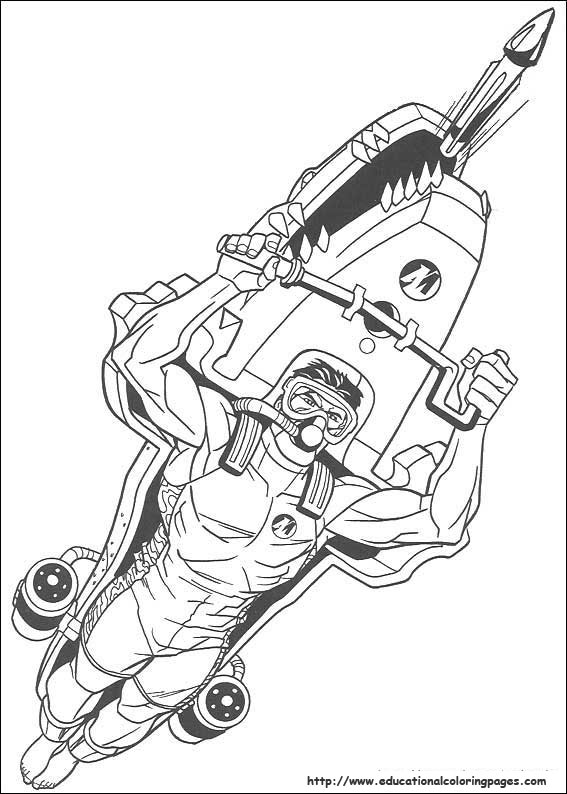 Free Printable Coloring Pages Action Man