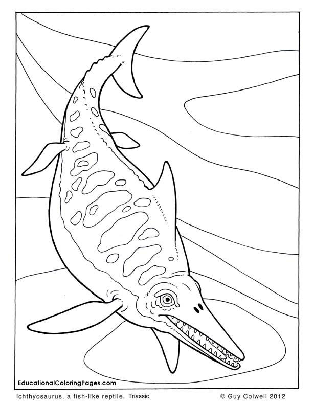 Dinosaurs Coloring Pages free For Kids
