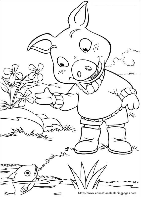 Jakers Coloring Pages Educational