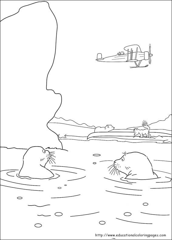 Little Polar Bear Coloring Pages