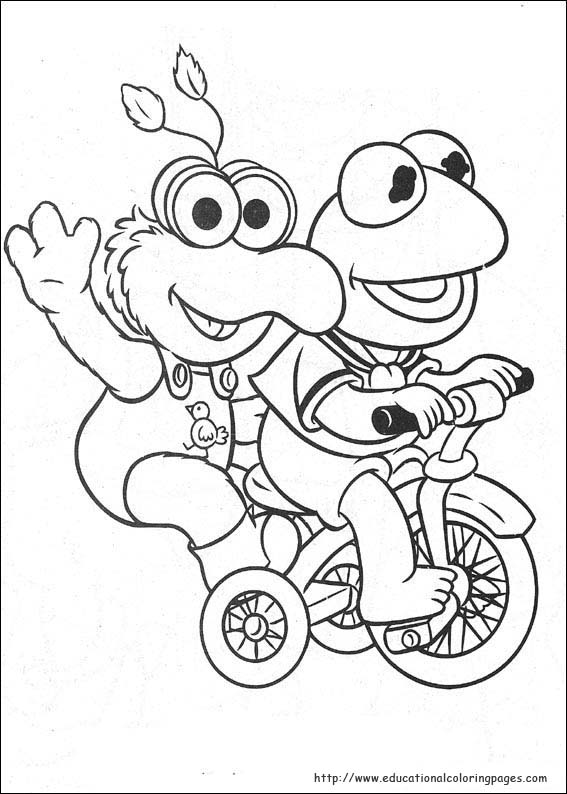 muppets coloring pages - photo#25