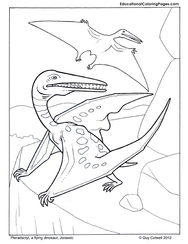 Dinosaurs Coloring Pages free For