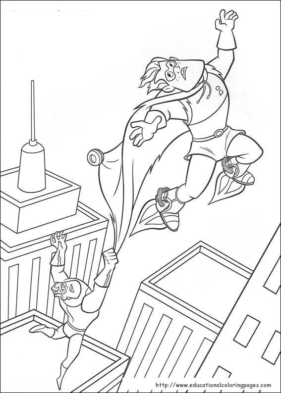 The Incredibles Coloring Pages