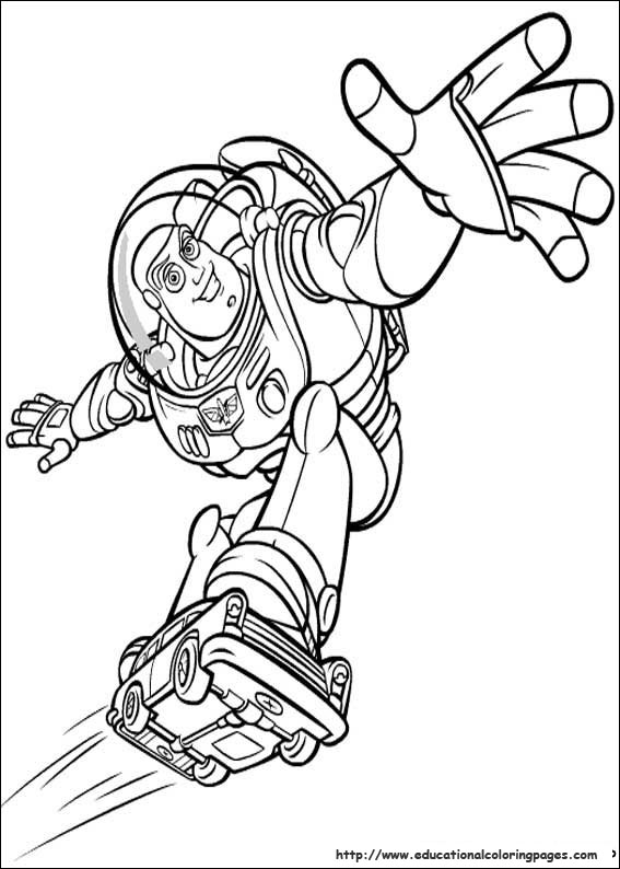 Toy Story Coloring sheets - Educational Fun Kids Coloring ...