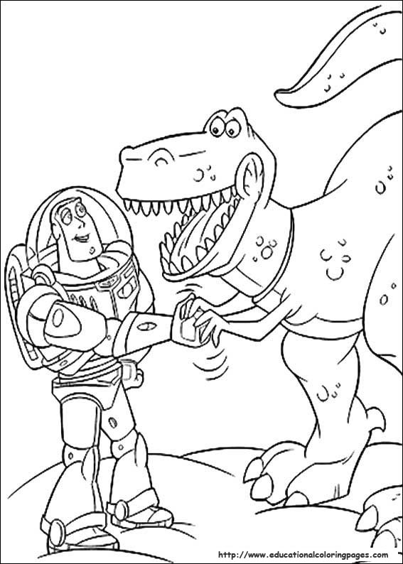 Toy story coloring sheets educational fun kids coloring for Free printable coloring pages toy story 3