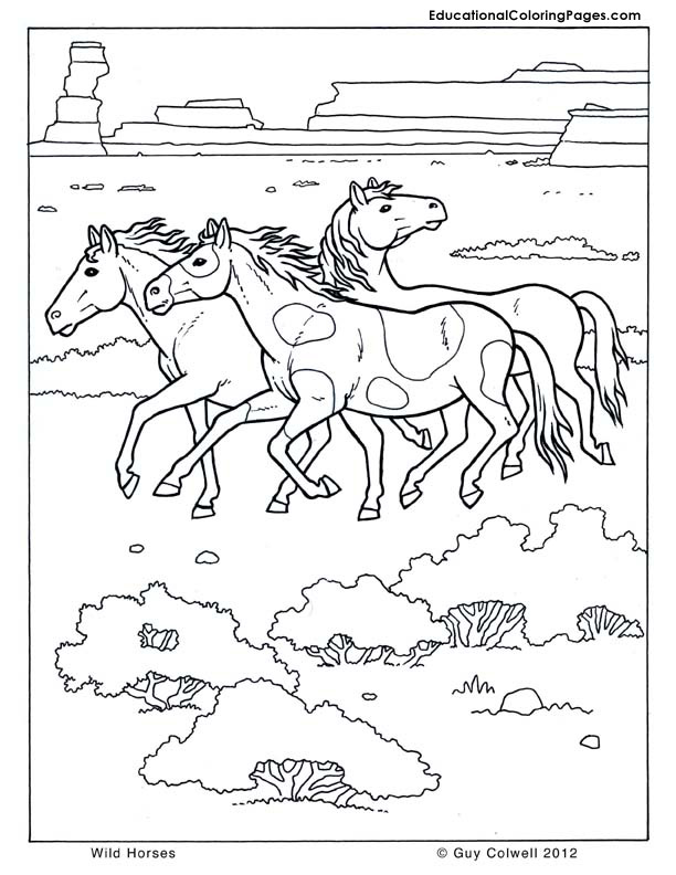 Mammals Coloring - Educational Fun Kids Coloring Pages and Preschool ...