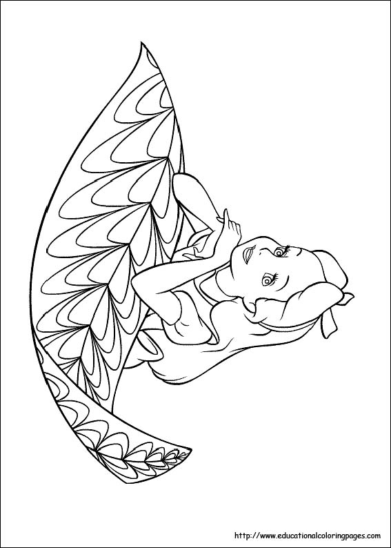 Alice in Wonderland Coloring Pages free For Kids