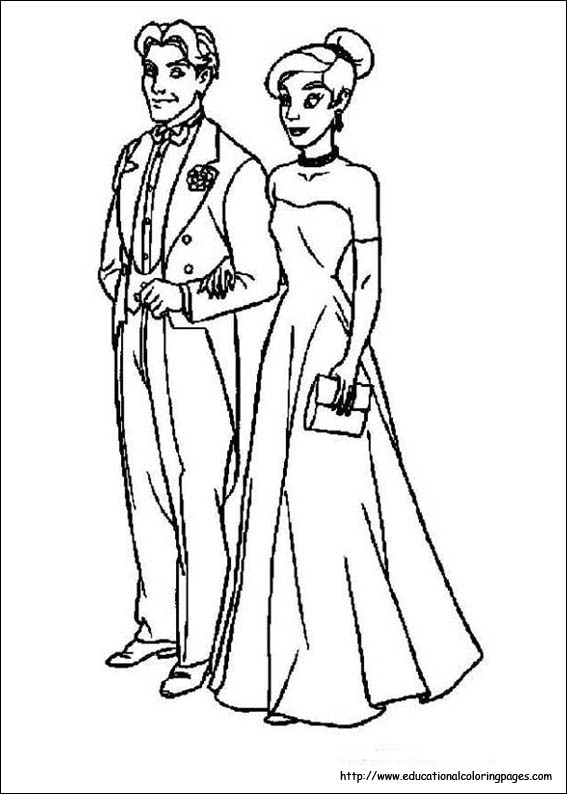 Anastasia Coloring pages Educational