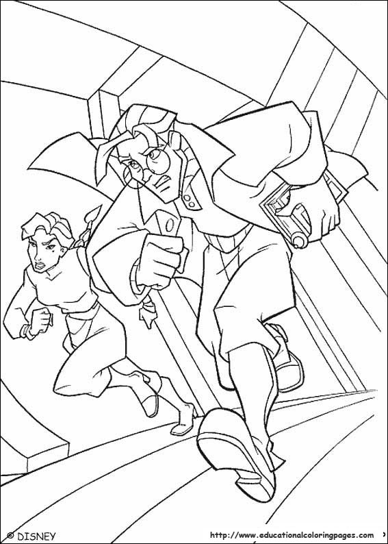 Atlantis Coloring pages