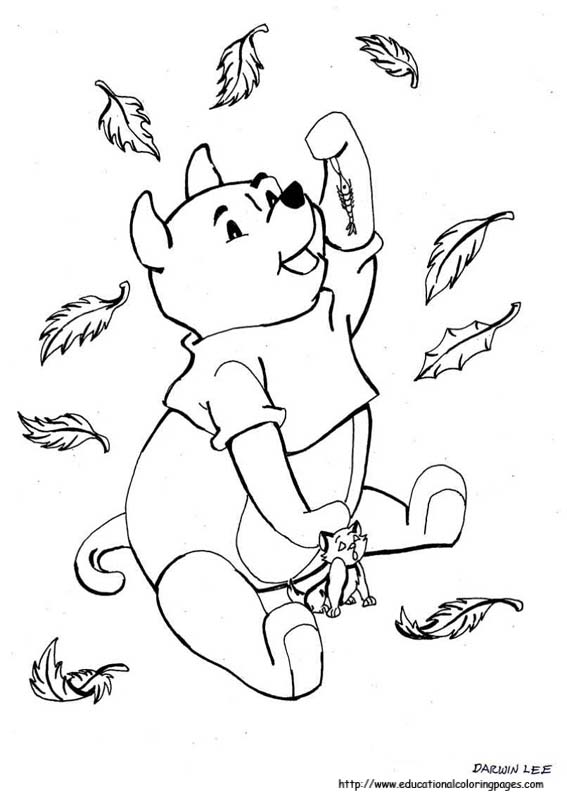 Autumn Coloring Pages Educational