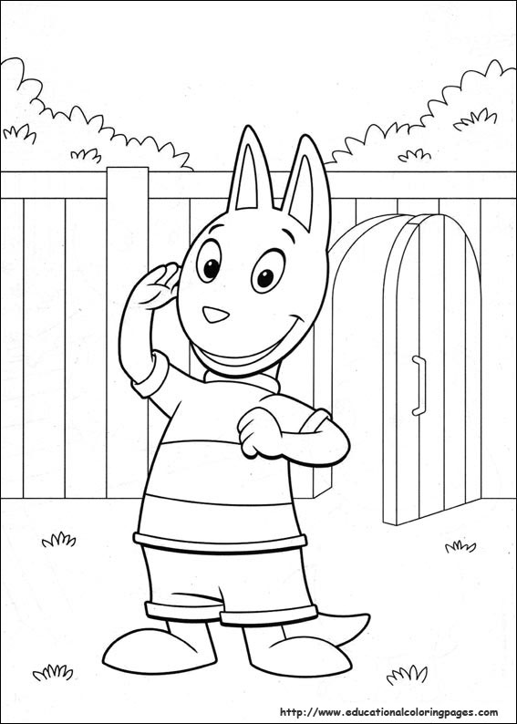 backyardigans coloring pages educational fun kids coloring pages and preschool skills worksheets - Backyardigans Coloring Pages Print