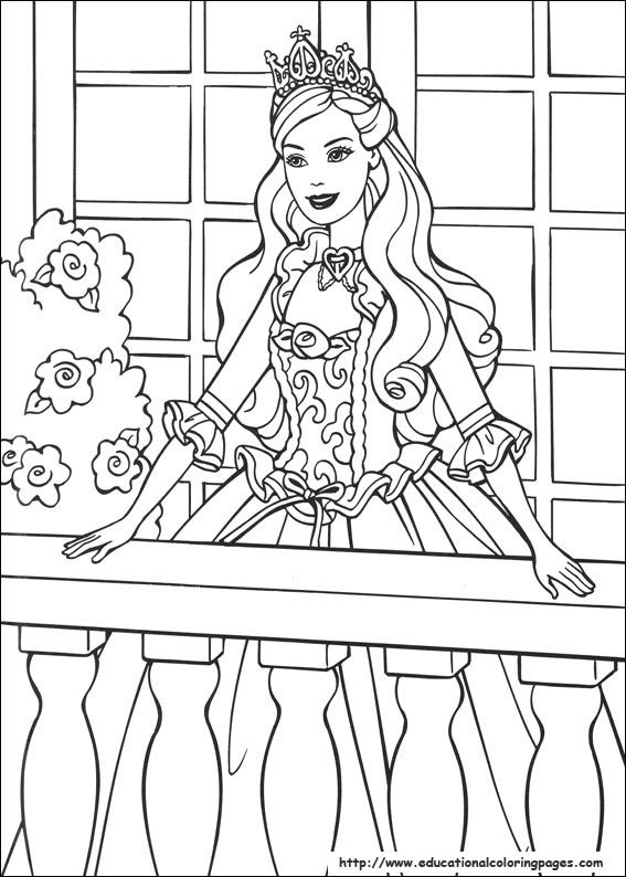 barbie coloring pages full size - photo#37