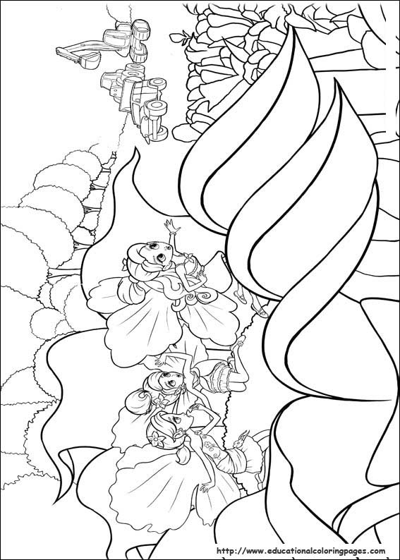 thumberlina coloring pages - photo#25
