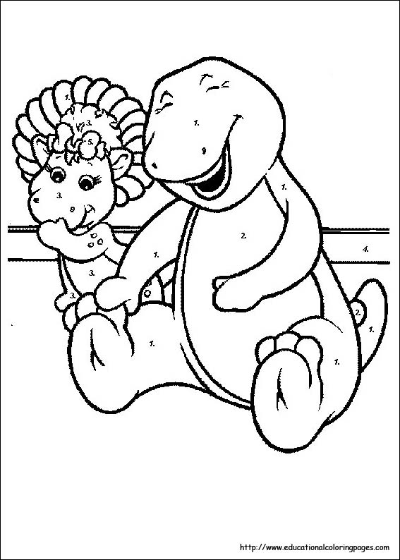 barney coloring pages educational fun kids coloring pages and preschool skills worksheets
