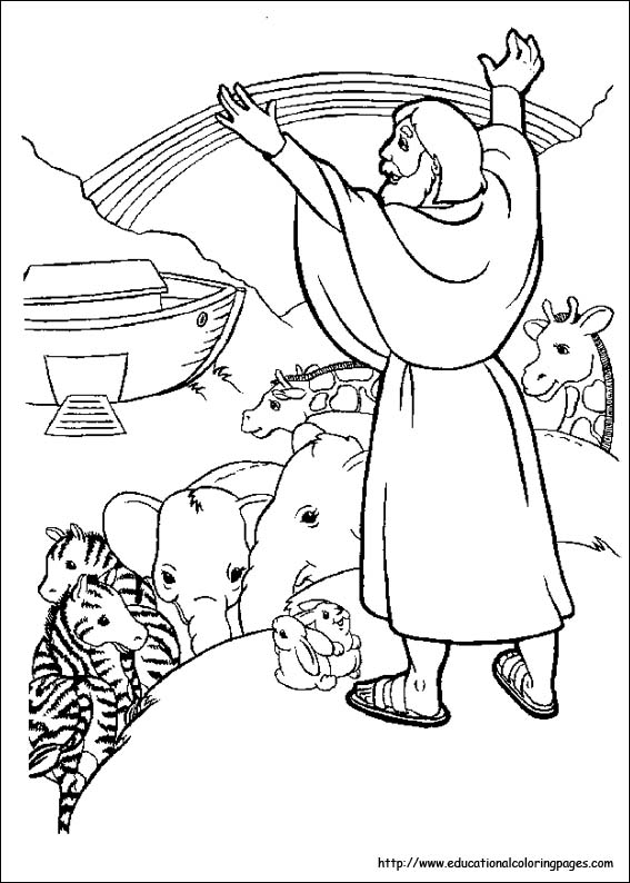 Bible Stories Coloring Pages - Educational Fun Kids Coloring Pages ...