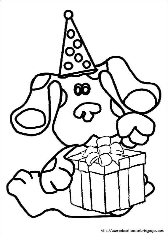 bluesclues06 - Educational Fun Kids Coloring Pages and Preschool ...