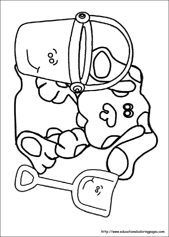 bluesclues07 - Educational Fun Kids Coloring Pages and Preschool ...