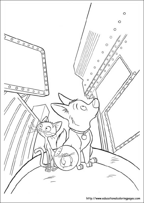 Bolt Coloring Pages - Best Coloring Pages For Kids | 794x567