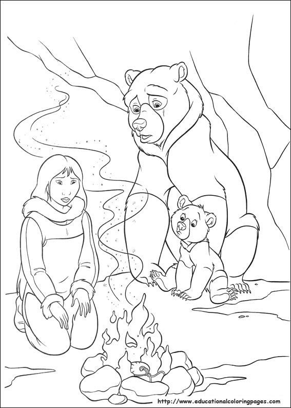 Brother Bear 2 Educational Fun