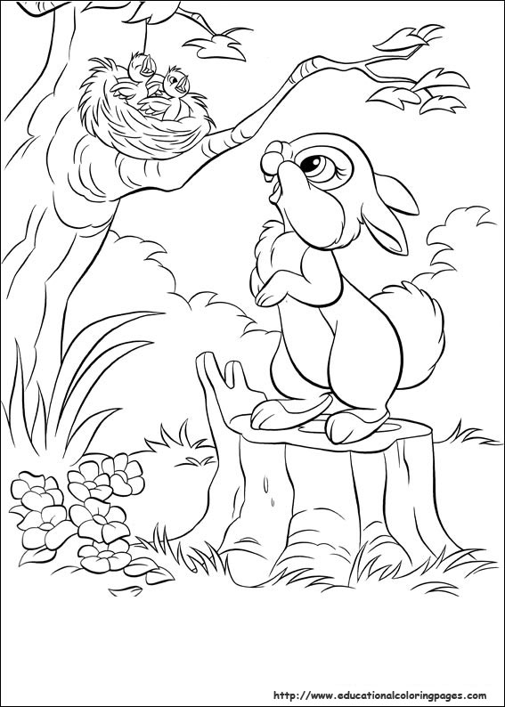 Educational Coloring Pages Com Disney Html : Disney bunnies educational fun kids coloring pages and