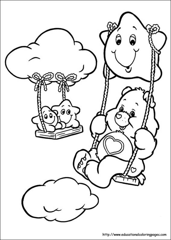Best Care Bears Coloring Pages Images Coloring Page Design