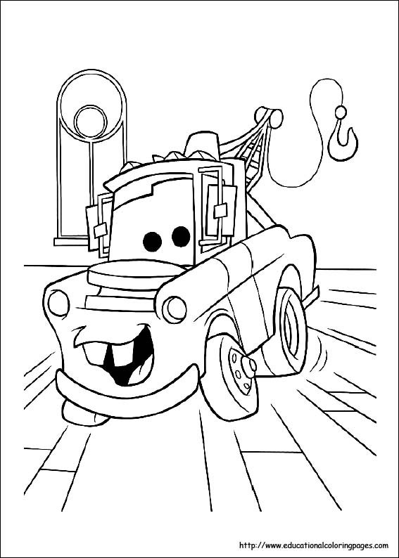 - Coloring Pages For Kids Disney Cars Coloring Pages