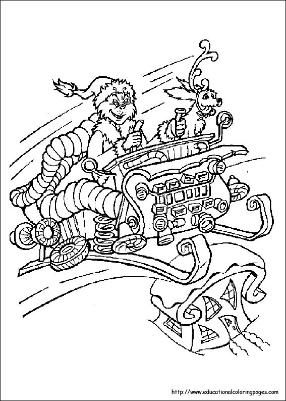 Coloring Pages For Kids  Dr Seuss coloring pages