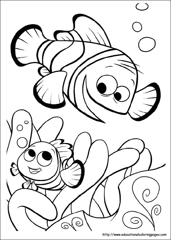 40 Finding Nemo Coloring Pages - Free Printables | 794x567