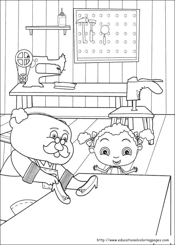 Frannys Feet Coloring Pages Educational Fun Kids