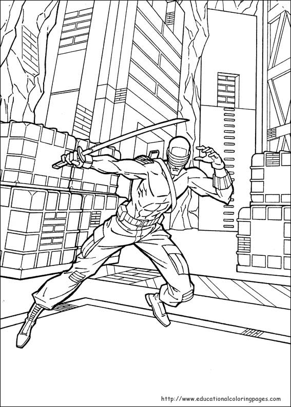 gi joe coloring pages GI Joe Coloring Pages   Educational Fun Kids Coloring Pages and  gi joe coloring pages