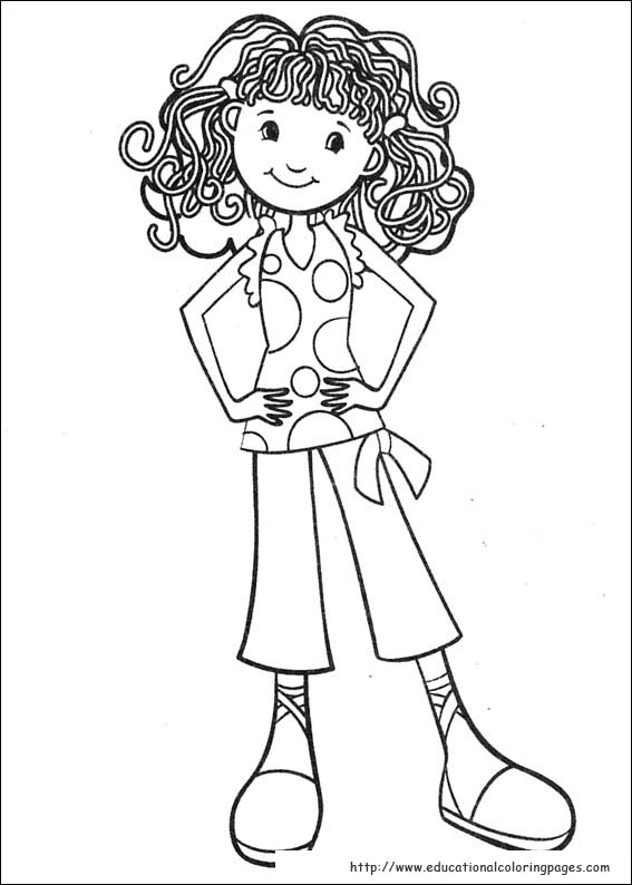 groovy girls coloring pages free for kids - Kids Colouring Pages Free