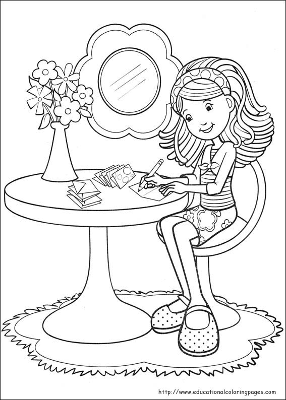 girls free coloring pages - photo#7