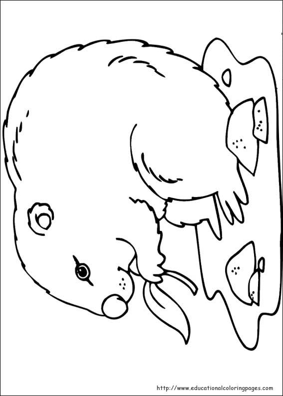 Groundhog Day Coloring Pages - Educational Fun Kids Coloring Pages ...