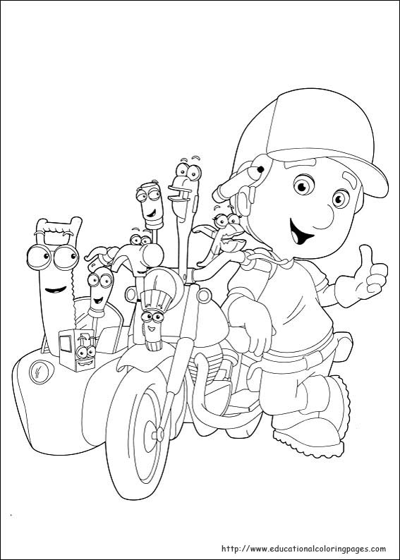 Handy Manny Coloring Pages Educational Fun Kids Coloring Pages And