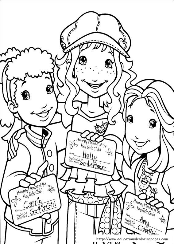 Cars Kleurplaat 3 Holly Hobbie Coloring Pages Educational Fun Kids