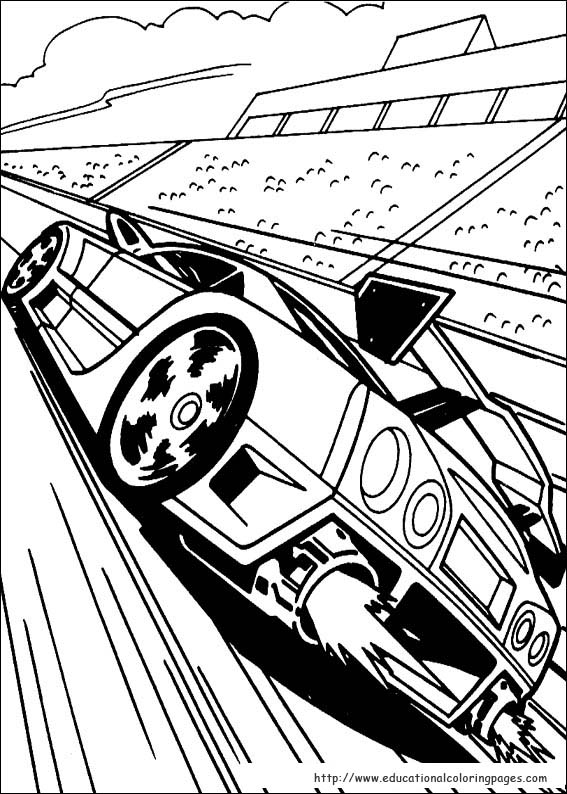 hot wheel coloring pages - photo#35