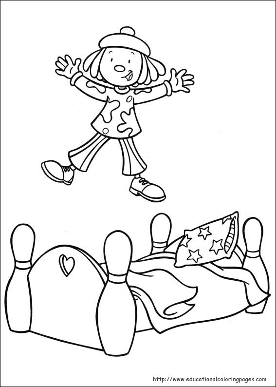 Jojo Circus Coloring Pages Educational