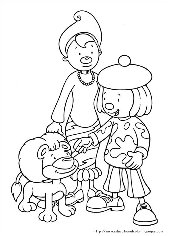Coloring Pages Jojo : Jojo circus coloring pages educational fun kids