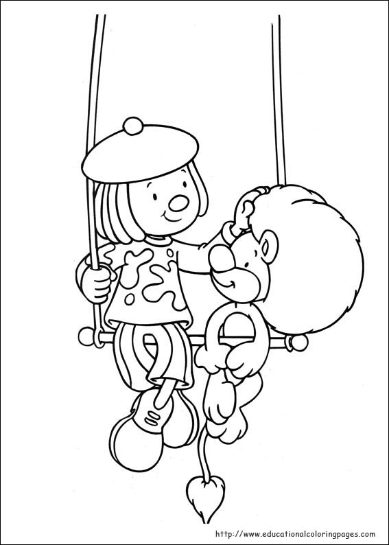 Jojo Circus Coloring Pages - Educational Fun Kids Coloring Pages ...