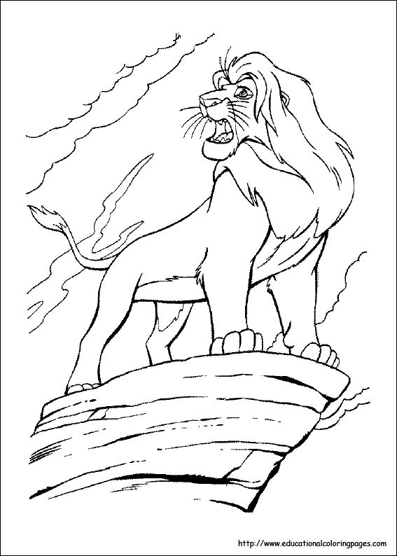 Lion King Coloring