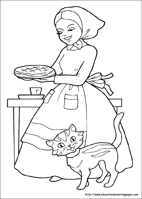 red riding hood coloring pages - photo#8