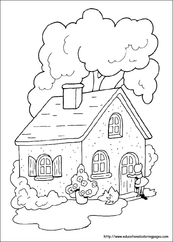 red riding hood coloring pages - photo#22
