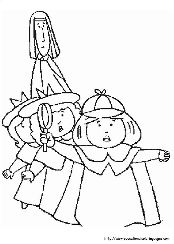 free madeline coloring pages - photo#1