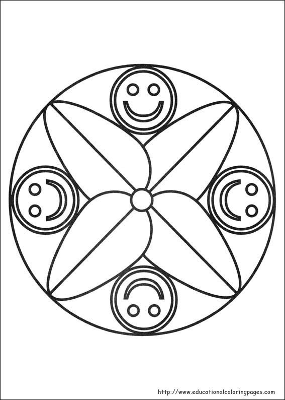 Mandalas Coloring Pages Free For Kids