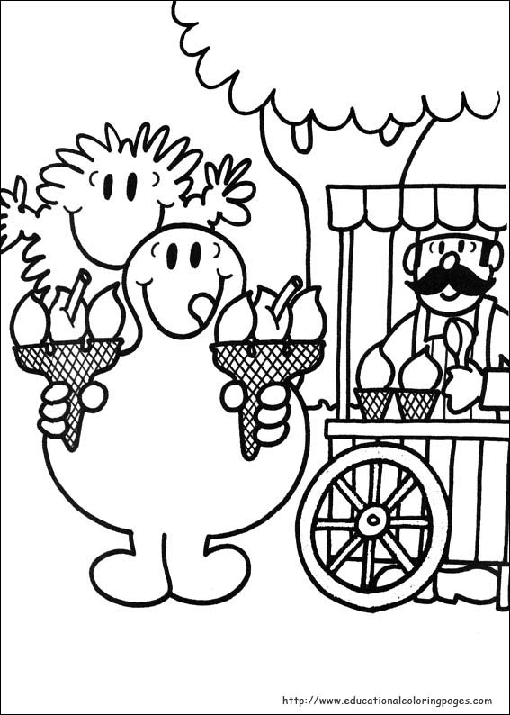 mr men coloring pages - photo#28