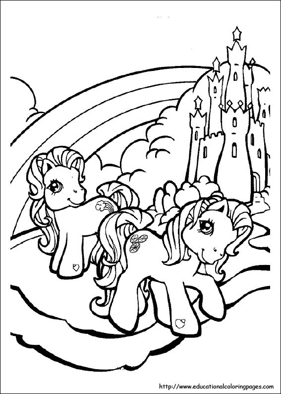 image relating to Pony Printable Coloring Pages named My Minor Pony Coloring Web pages absolutely free For Little ones
