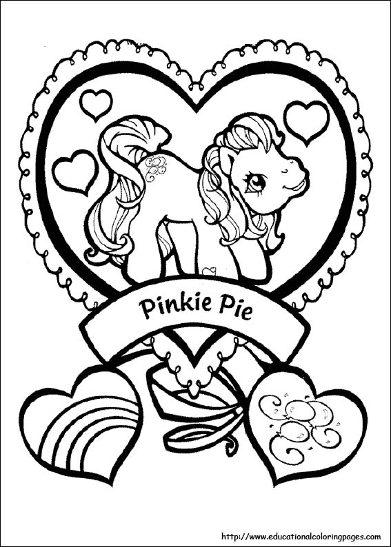 My Little Pony Coloring Pages free For Kids