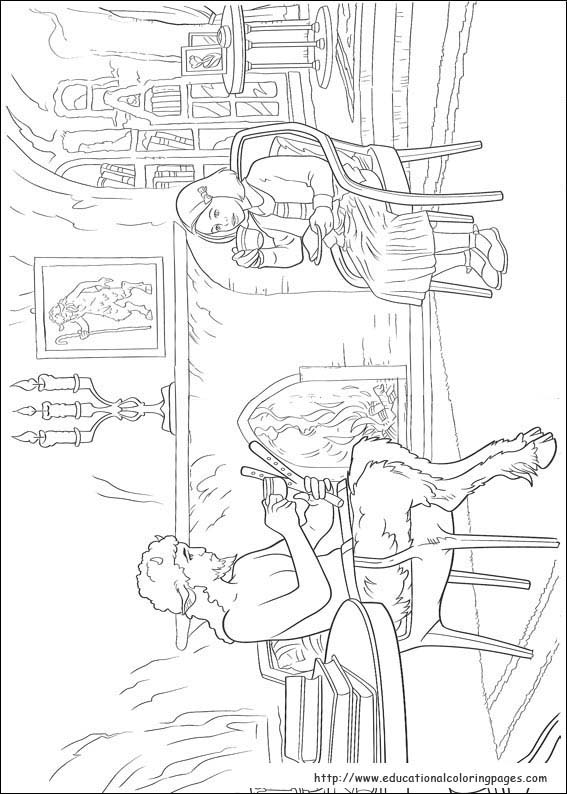 The Chronicles Of Narnia Coloring Pages Educational Fun